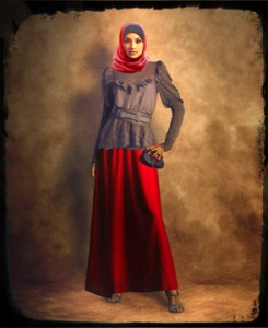 Busana Pesta untuk Wanita Muslim « Tren Busana Muslim