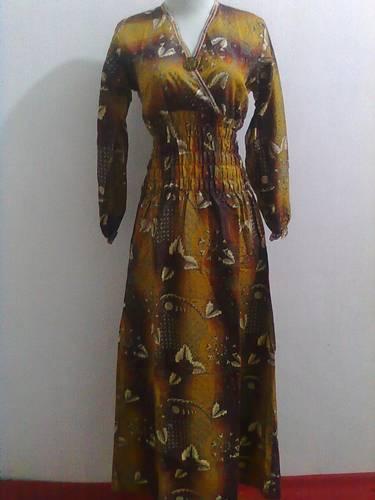 Memilih Baju Gamis Batik Modern Busana Muslim Indonesia