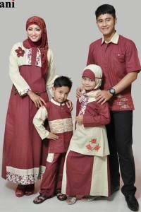Model Baju Serambit Muslim Keluarga Terbaru