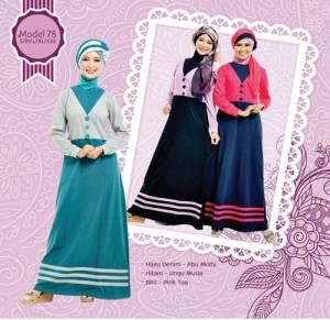 Gamis Modern Anak Muda Busana Muslim Indonesia